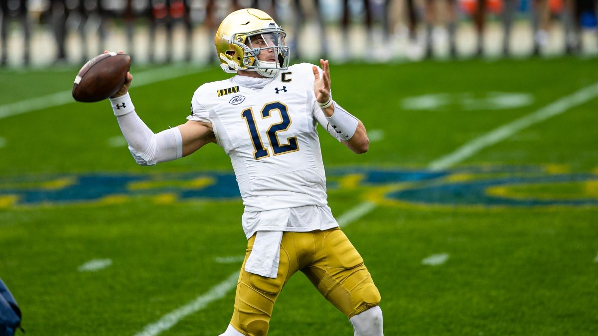 Notre Dame vs. Syracuse Promo: Bet $20, Win $125 if Ian Book Throws for at Least 1 Yard! article feature image