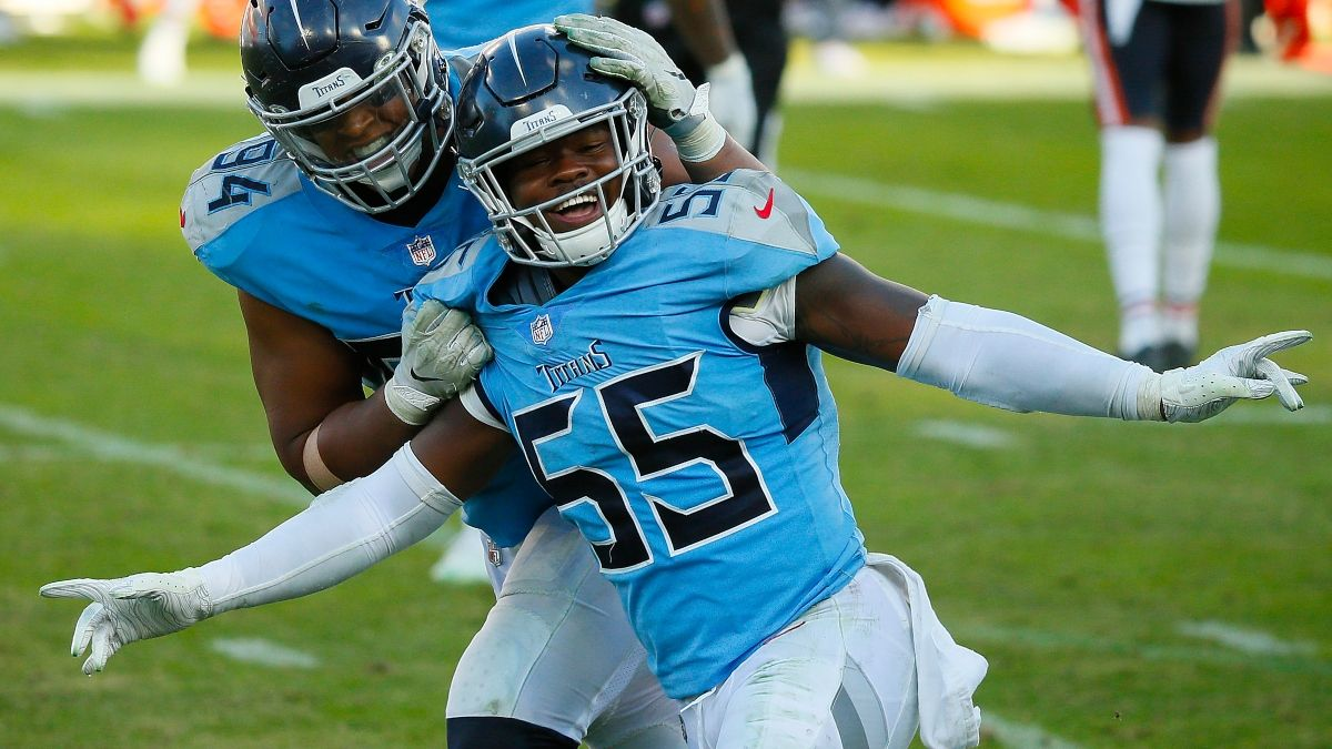 Titans vs. Lions Odds & Promos: Bet $1, Win $100 if There's at Least 1 TD, More! article feature image