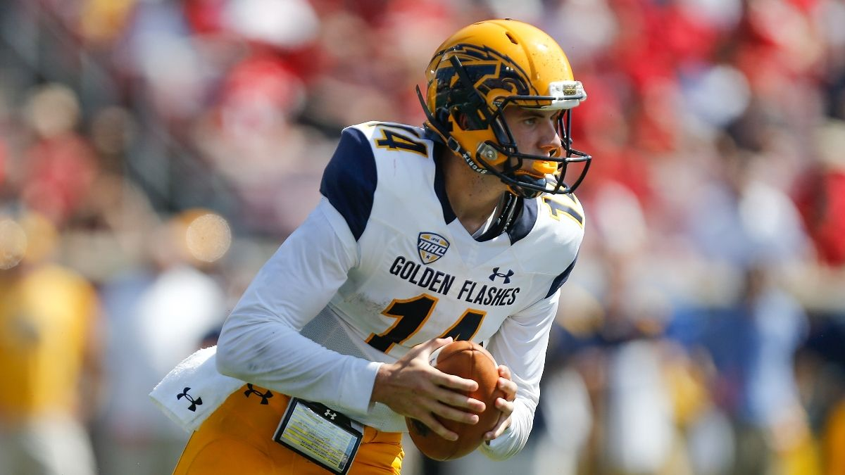 College Football Odds & Pick for Eastern Michigan vs. Kent State: Sharps Betting Wednesday's Over/Under article feature image
