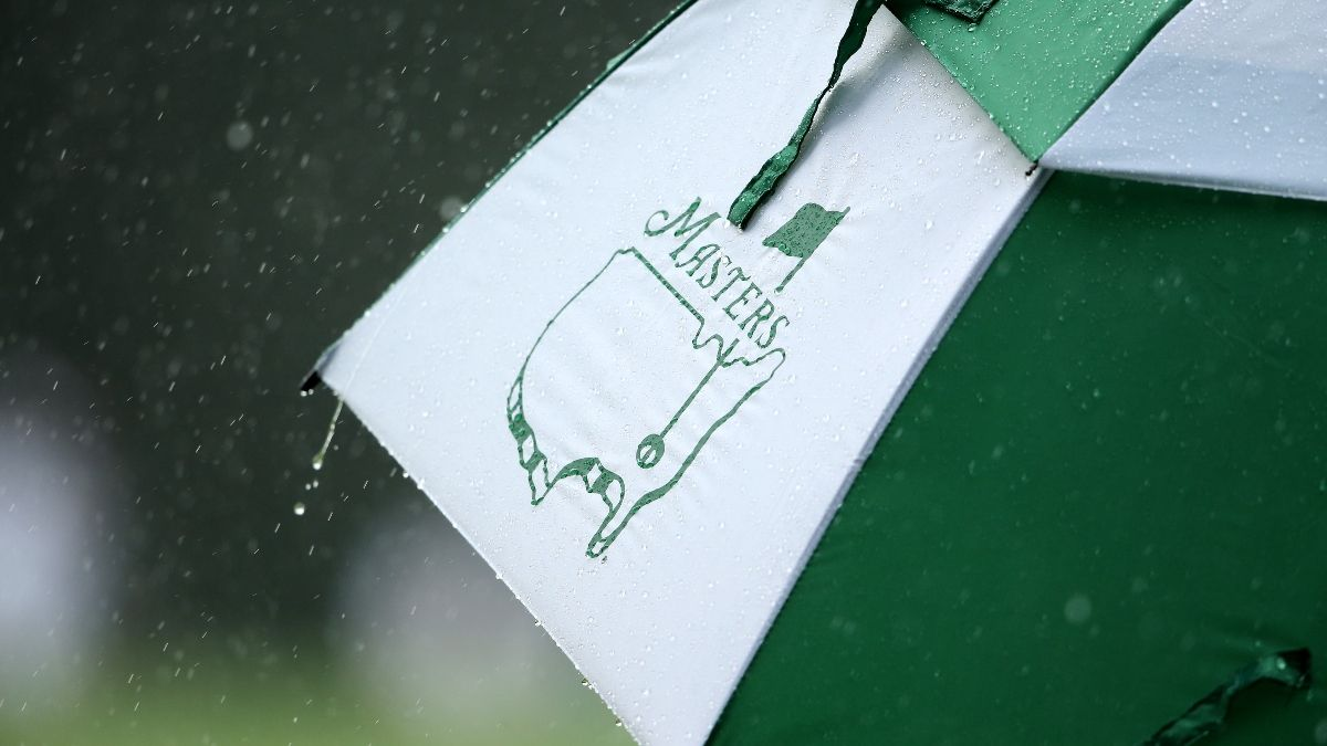 Updated Masters Weather Forecast: Early Thunderstorms Will Give Way at Augusta National article feature image