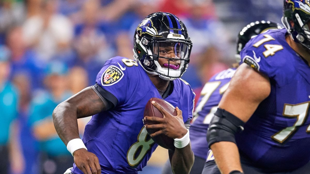 Ravens vs. Patriots Promo: Bet $1, Win $100 if There's at Least 1 TD! article feature image