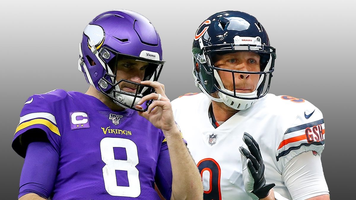 NFL Monday Night Football Odds & Picks: How To Bet the Vikings vs. Bears Spread article feature image