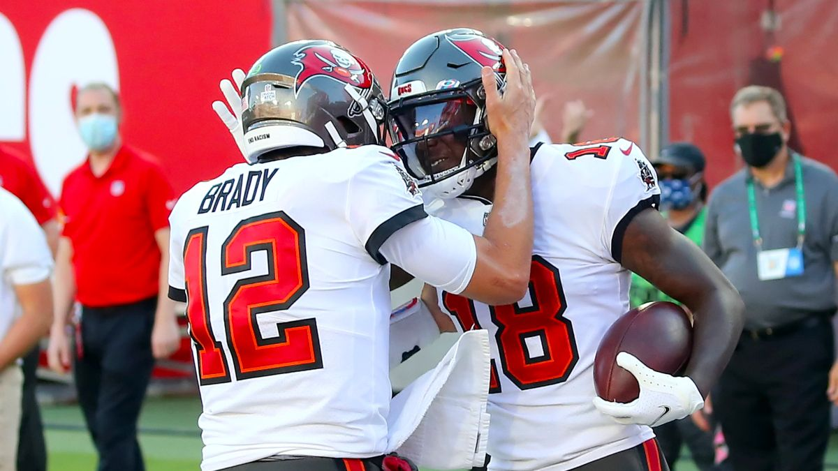 NFL Odds & Sharp Picks: How Pros Are Betting the Buccaneers vs. Falcons Spread & Total article feature image