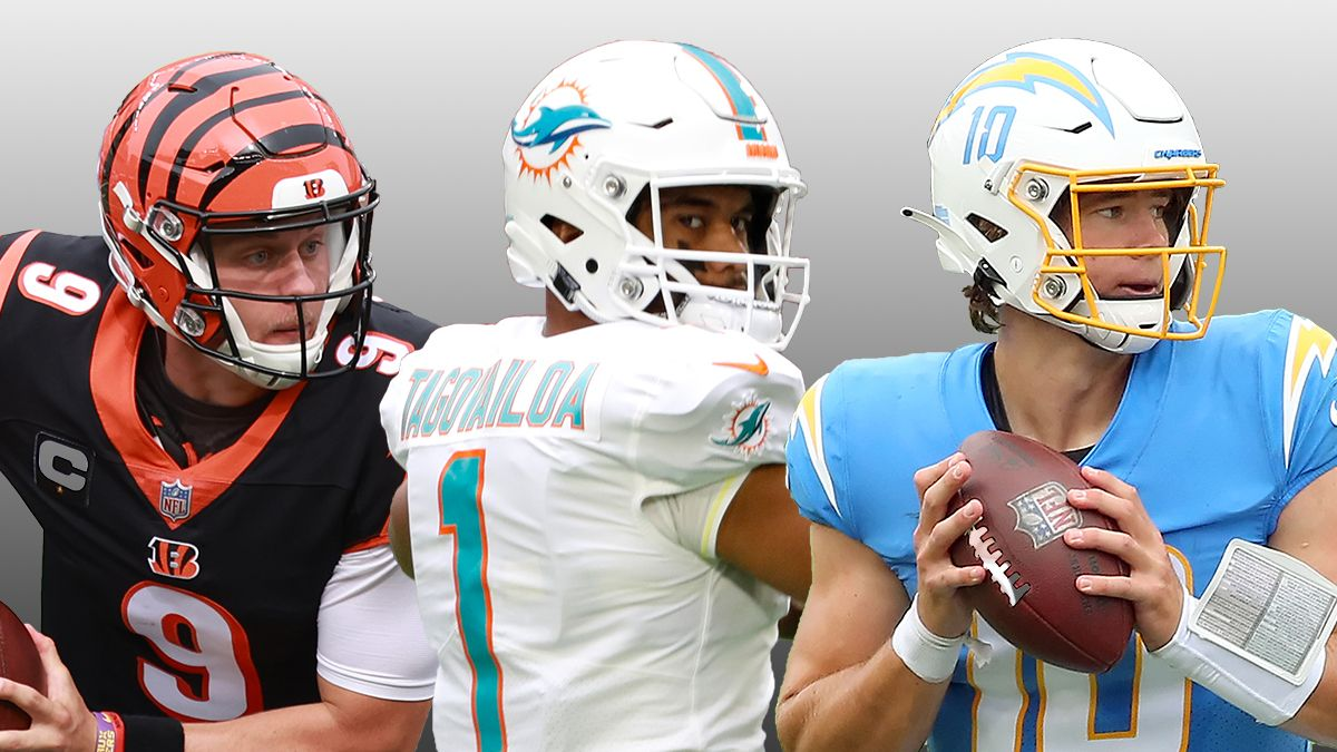 Justin Herbert, Tua Tagovailoa, or Joe Burrow? NFL Rookie Of The Year Odds & Race Predictions article feature image