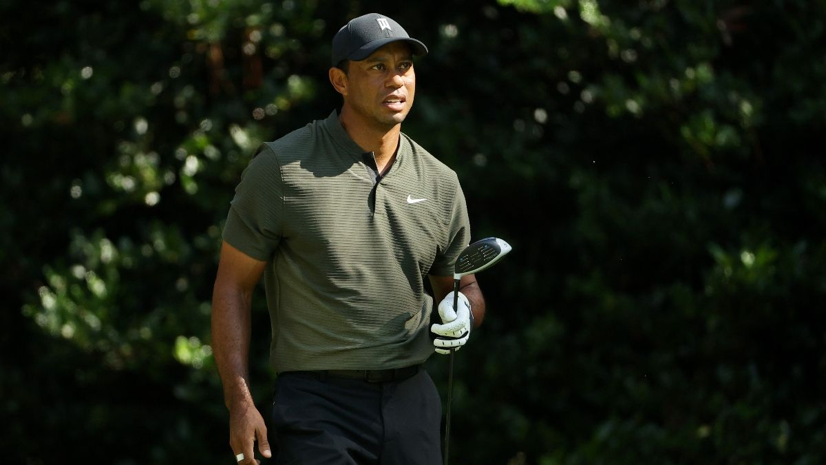 Updated 2020 Masters Odds: Justin Thomas the Favorite After Rain-Shortened Thursday, Tiger Woods Moves to 18/1 article feature image