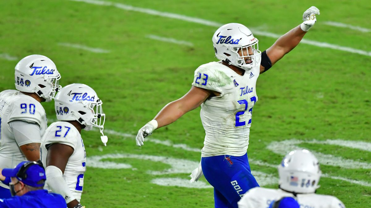 College Football Odds & Pick For Tulsa vs. SMU: Bet the Golden Hurricane on Saturday article feature image