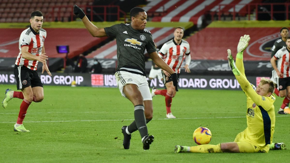 Manchester United vs. Leeds United Sunday Premier League Betting Odds, Picks & Predictions (Dec. 20) article feature image