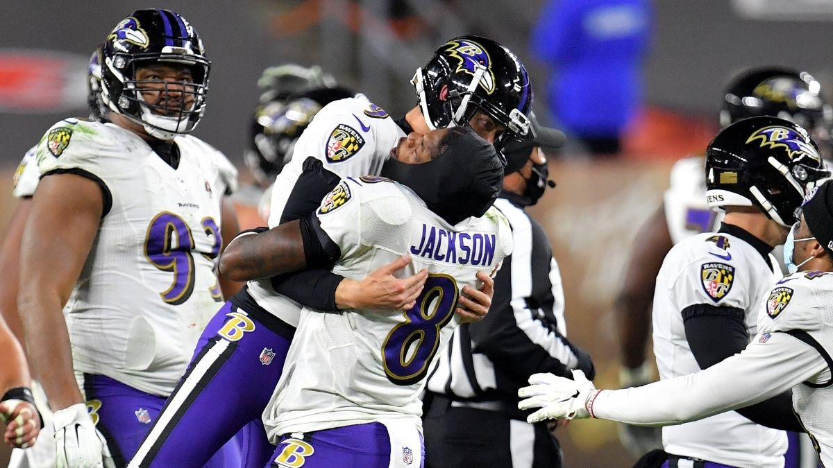 Ravens Cover Spread With Insane Last-Second Safety For Monday Night Football Bad Beat article feature image