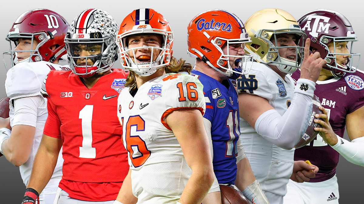 College Football Playoff Odds: Projections for the Top 15 Most Likely CFP Semifinals Matchups article feature image