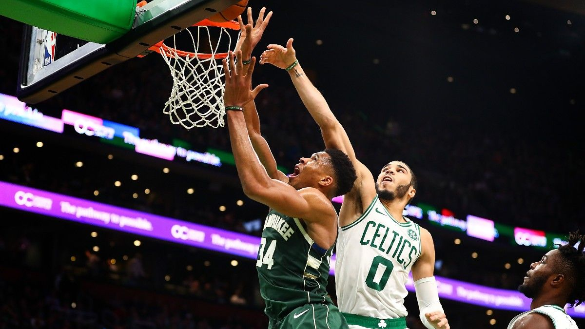 Bucks vs. Celtics NBA Betting Odds & Pick: Giannis, Milwaukee Primed for Quick Start in Boston article feature image