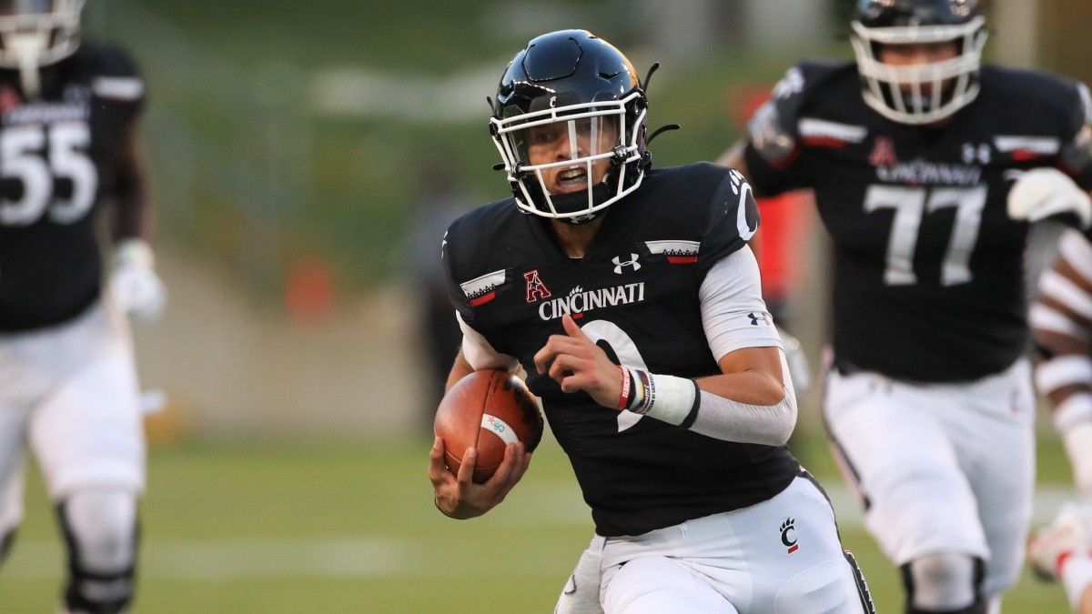 AAC Championship College Football Odds & Picks: How to Bet Tulsa vs. Cincinnati article feature image