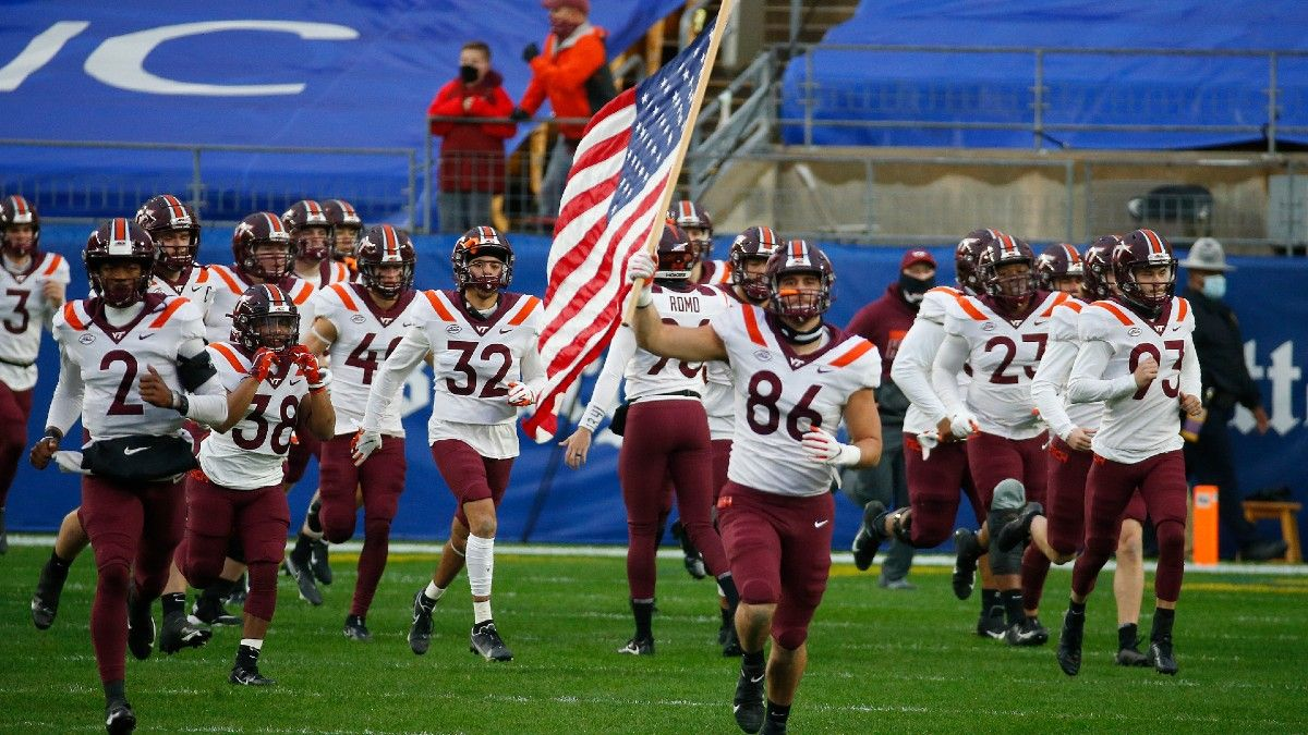 Virginia vs. Virginia Tech Odds & Picks: Buy Low on the Hokies' Saturday Revenge? article feature image