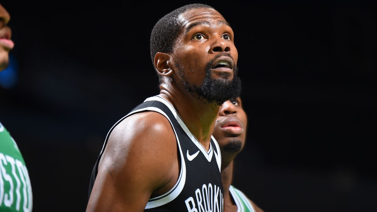 Nets vs. Warriors Promo: Bet $20, Win $150 if Kevin Durant Scores at Least One Point! article feature image