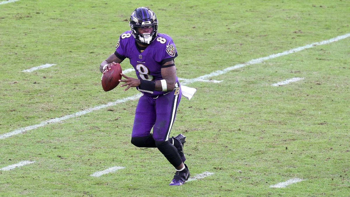 Ravens vs. Raiders Odds, Promo: Win $200 if the Ravens Score a Touchdown! article feature image