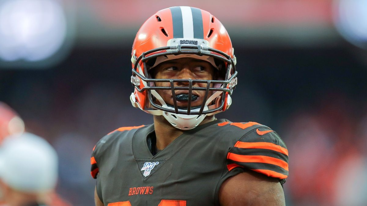 This Nick Chubb Over Is The NFL Prop To Bet For Browns vs. Giants On SNF article feature image