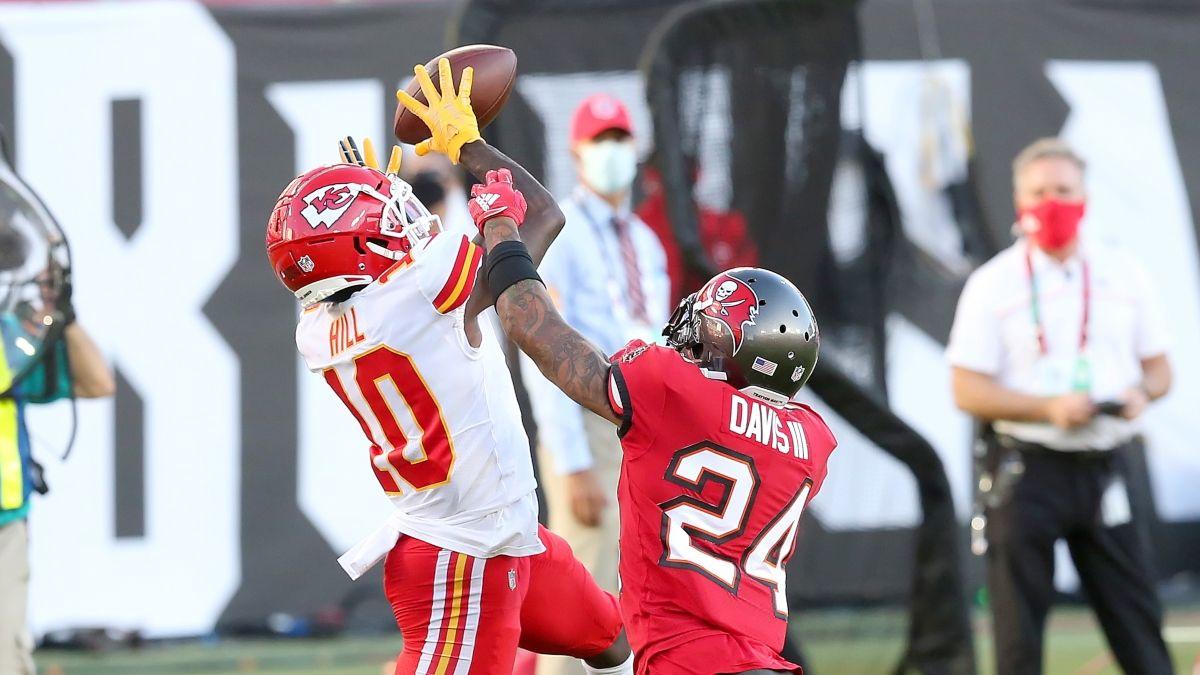 Super Bowl 55 WR/CB Matchups for Chiefs vs. Bucs article feature image