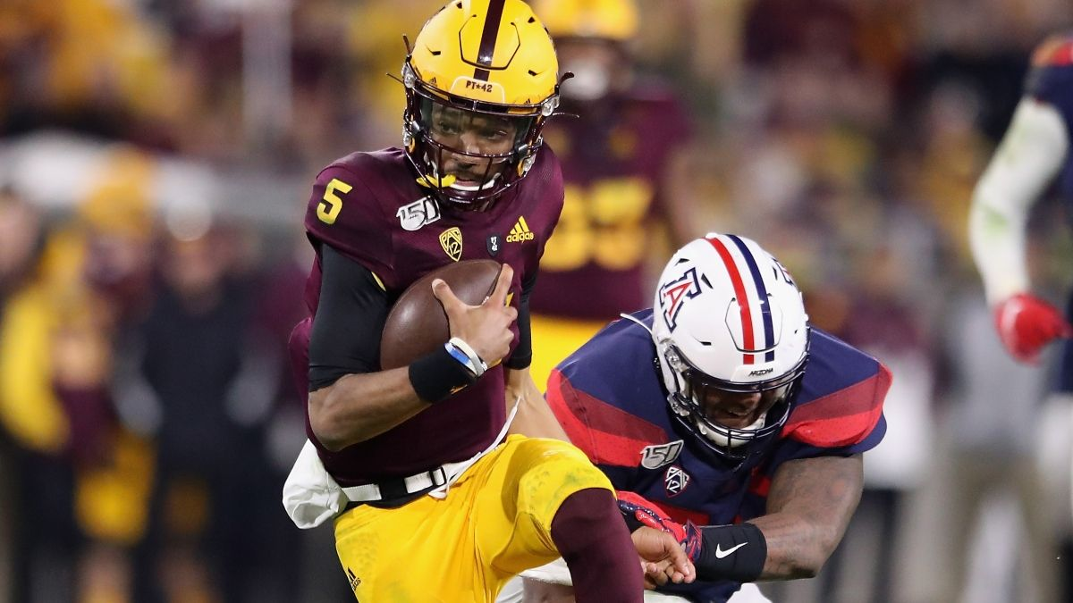 College Football Odds & Picks for Friday: Sharps Betting Arizona vs. Arizona State, Nevada vs. San Jose State (Dec. 11) article feature image