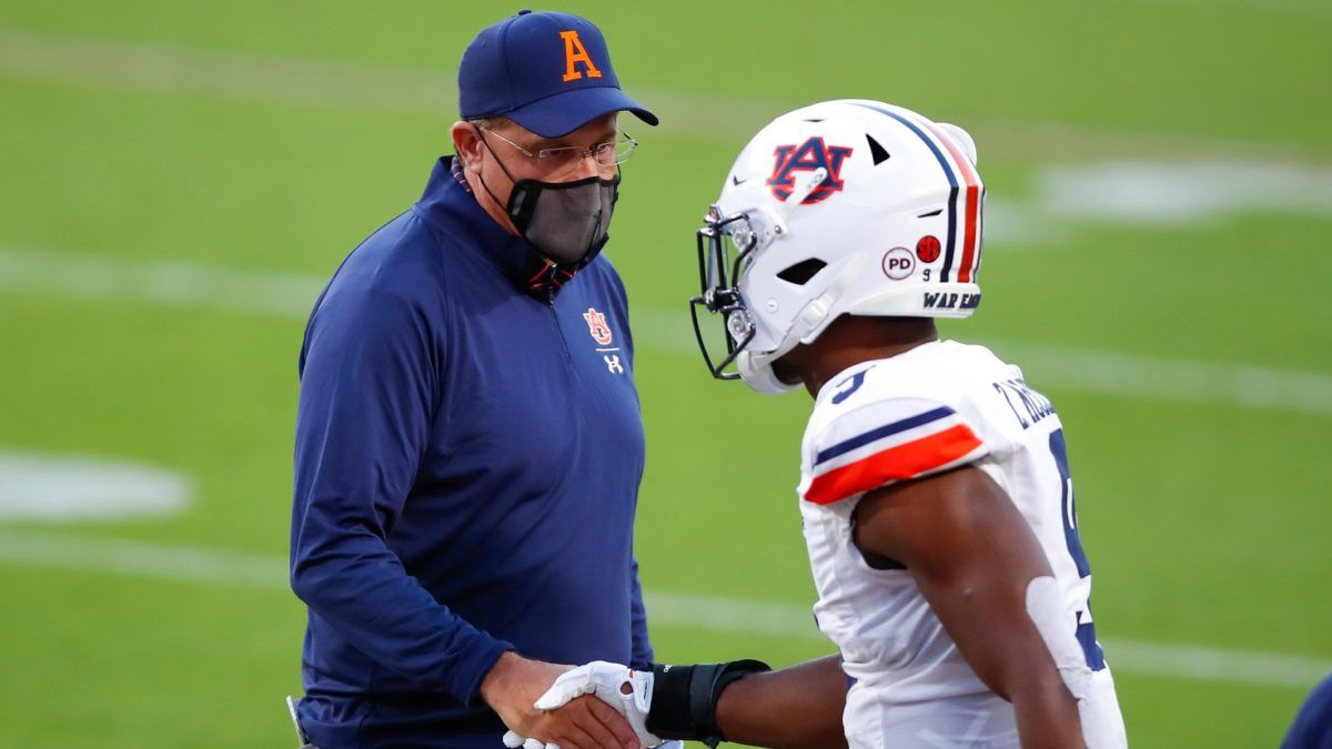Auburn vs. Mississippi State Odds & Picks: Bet Bulldogs To Keep Things Close in Saturday Battle article feature image