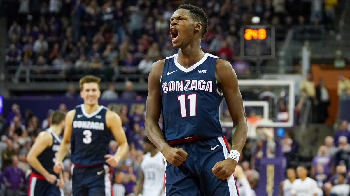 College Basketball Odds & Picks for West Virginia vs. Gonzaga: Wednesday's Live Betting Value on Bulldogs article feature image