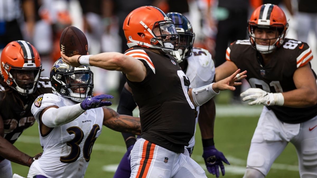 Browns vs. Ravens Odds & Picks: Our Betting Model's Edge For Monday Night Football article feature image