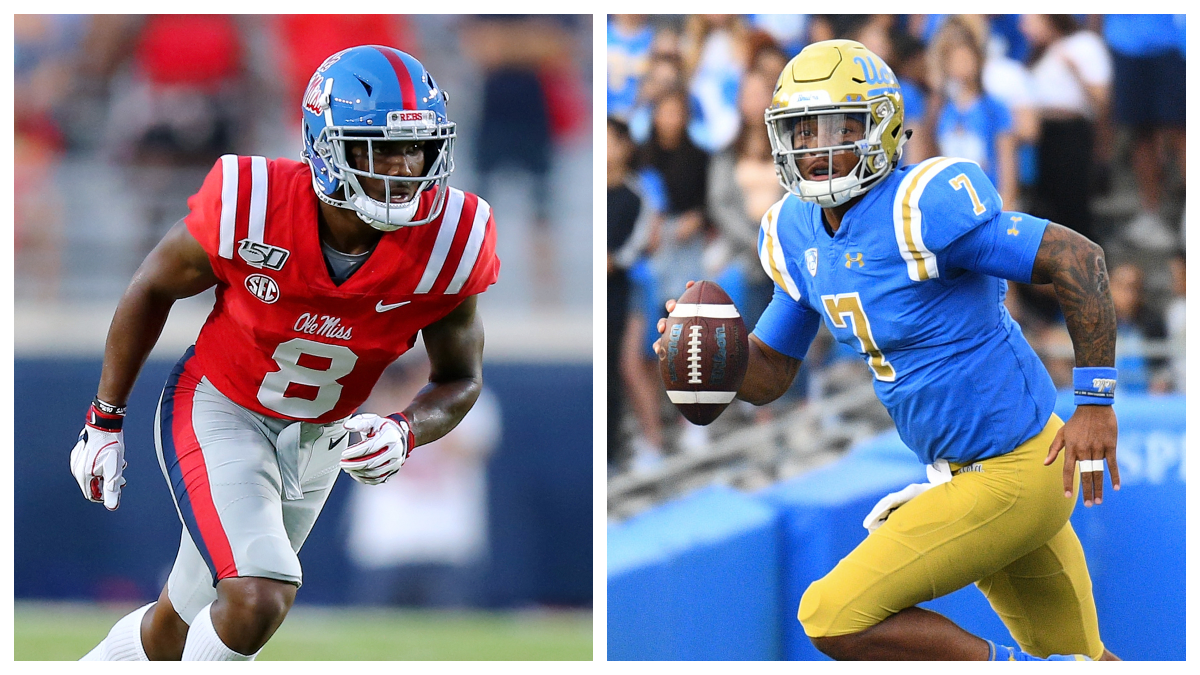 College Football Odds & Picks: Our Favorite Bets for UCLA-Stanford, Navy-Air Force & Ole Miss vs. LSU article feature image