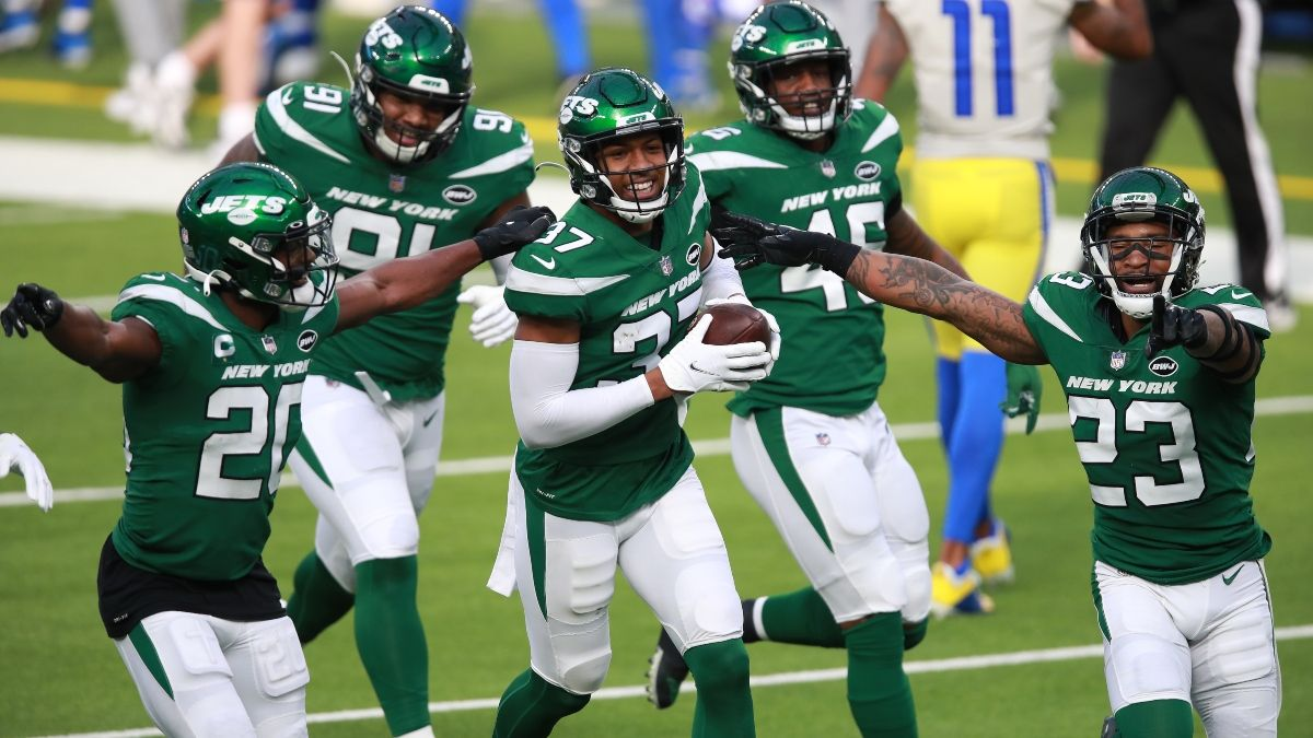 Jets Match Biggest NFL Upset Since 1995 With Win Over Rams As 17.5-Point Underdogs article feature image