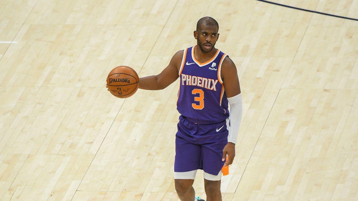 Phoenix Suns 2021 NBA Win Total Odds & Pick: Chris Paul's Addition Raises the Floor article feature image