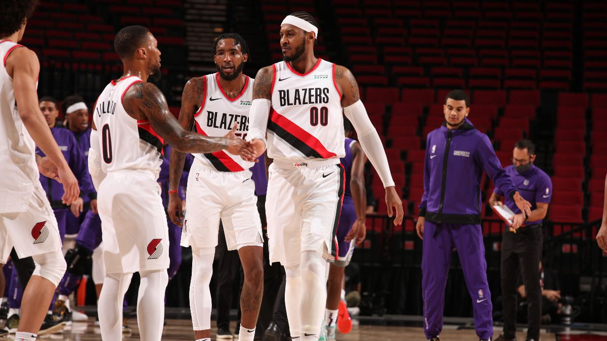 Portland Trail Blazers 2021 NBA Win Total Odds & Pick: Will Offseason Moves Translate to Wins? article feature image