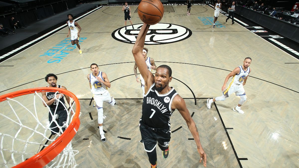 Nets vs. Rockets Promo: Bet $10, Win $50 if Brooklyn Scores a Point article feature image