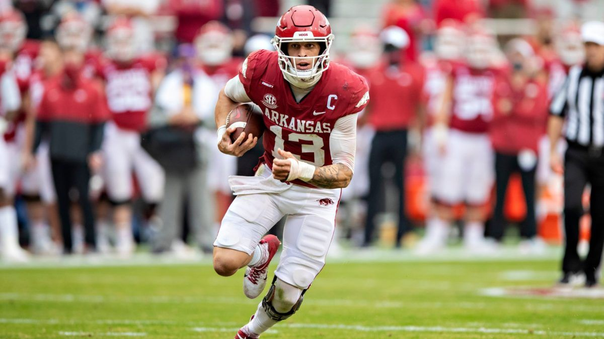 College Football Odds & Picks for Arkansas vs. Missouri: Bet the Razorbacks on Saturday article feature image