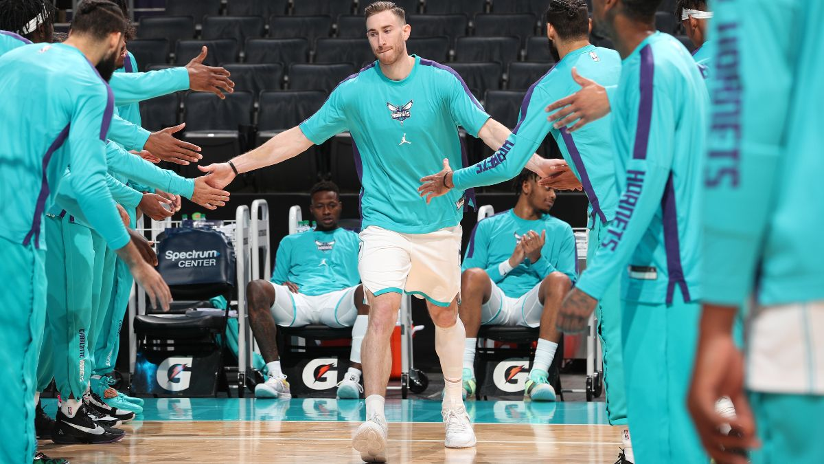 Charlotte Hornets 2021 NBA Win Total Odds & Pick: Can Gordon Hayward, LaMelo Ball Compete In the East? article feature image