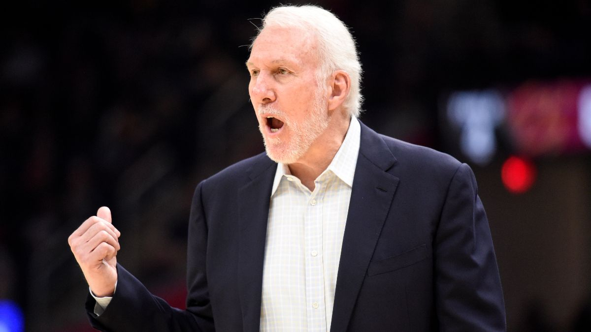 San Antonio Spurs 2021 NBA Win Total Odds & Pick: Don't Bet Against Gregg Popovich article feature image