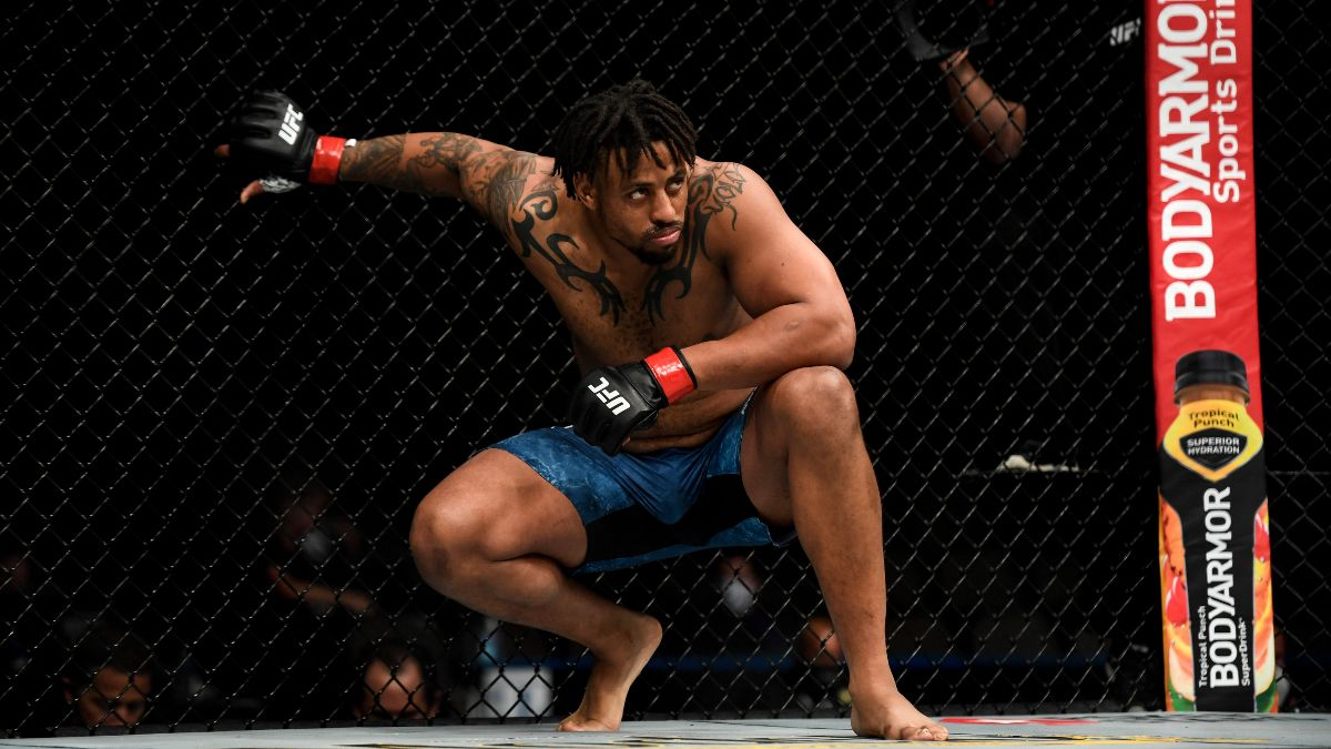 UFC Fight Night Marcin Tybura vs. Greg Hardy Odds & Picks: Can Hardy Survive Deep Waters? article feature image
