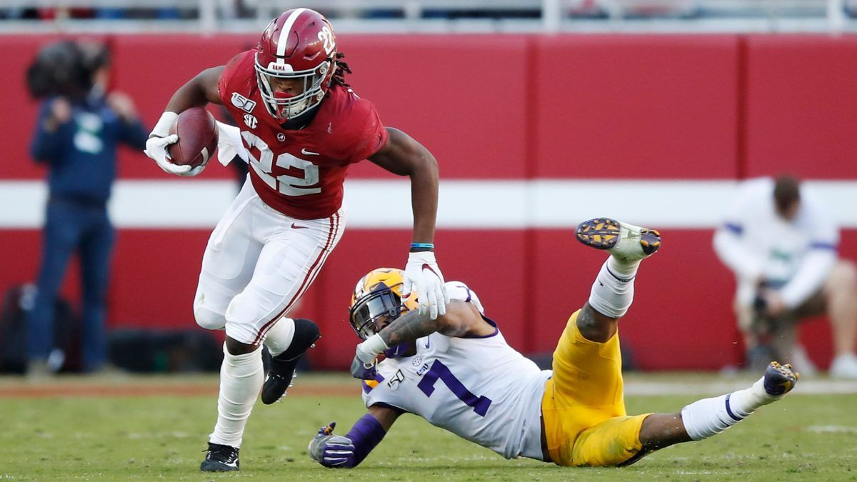 Saturday College Football Odds & Picks: Collin Wilson's Favorite Bets for LSU vs. Alabama, Coastal Carolina vs. BYU, Other Week 14 Games article feature image