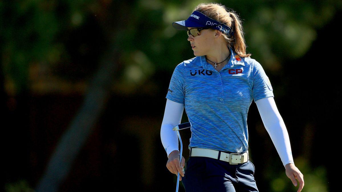 Sobel: How to Bet the U.S. Women's Open, DP World Tour Championship & QBE Shootout article feature image