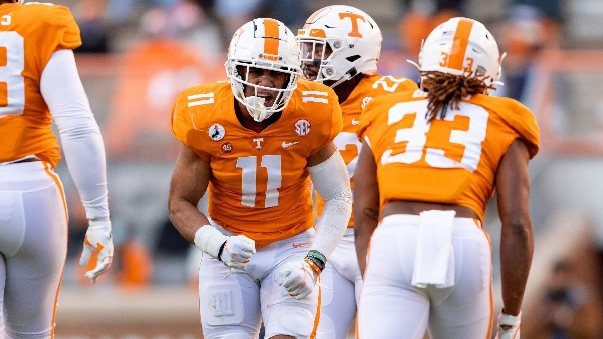 Texas A&M vs. Tennessee Odds & Pick: How Sharps Are Betting Saturday's Over/Under article feature image