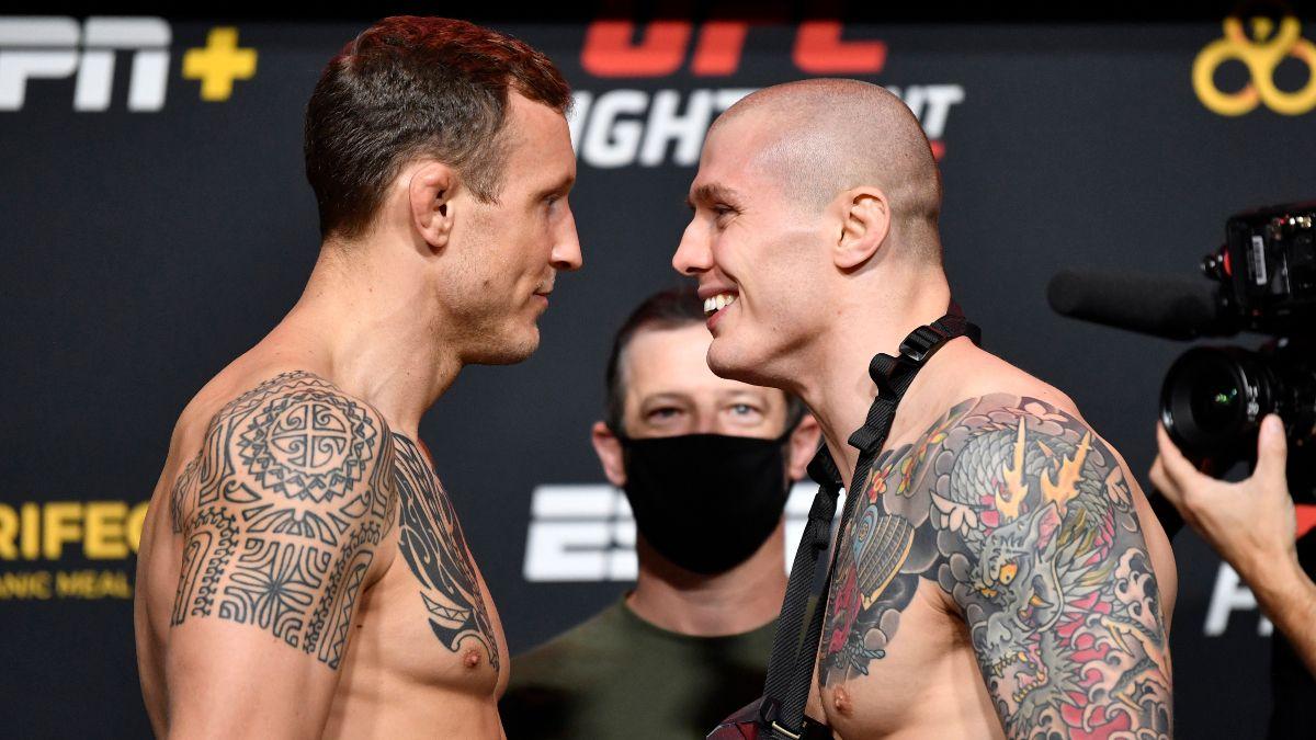 UFC Fight Night: Jack Hermansson vs. Marvin Vettori Odds & Picks (Saturday, Dec. 5) article feature image