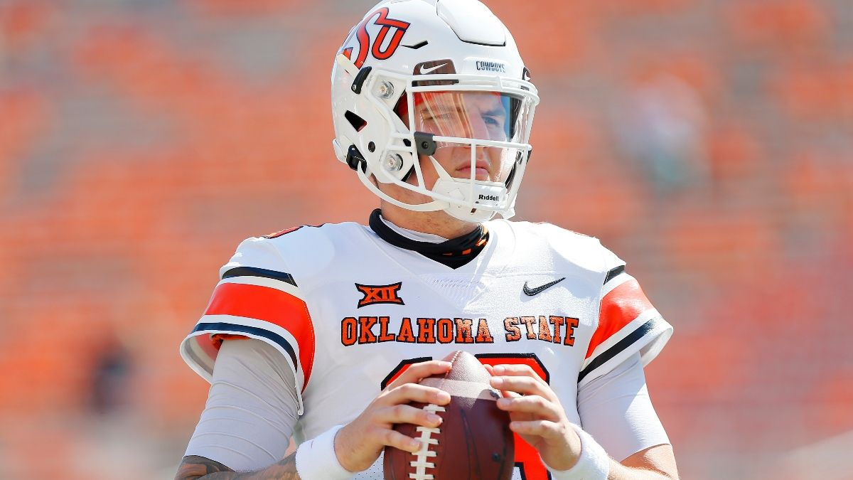 College Football Odds & Pick: Oklahoma State vs. TCU Sharp Bettors Hit Saturday's Spread article feature image