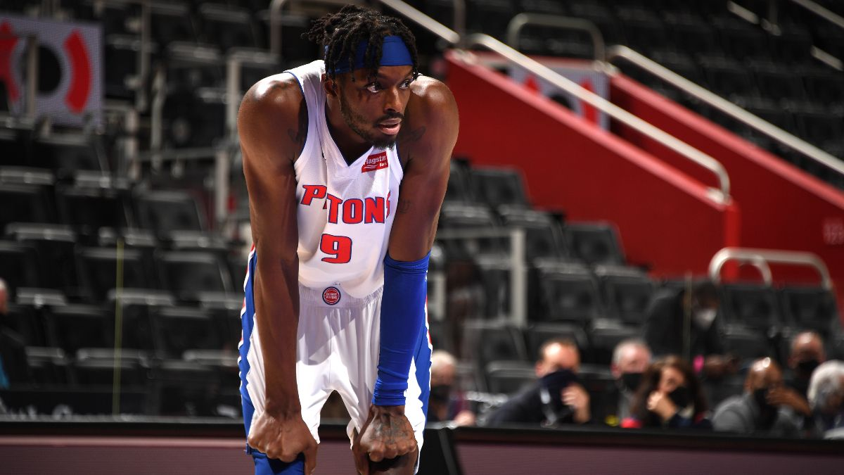 Detroit Pistons 2021 NBA Win Total Odds & Pick: Bet the Under on an Overhauled Roster article feature image