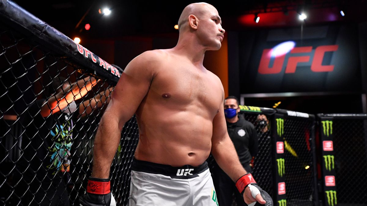 Junior Dos Santos vs. Cyril Gane Odds, Pick & Prediction: Is 'Cigano' In Trouble at UFC 256? article feature image
