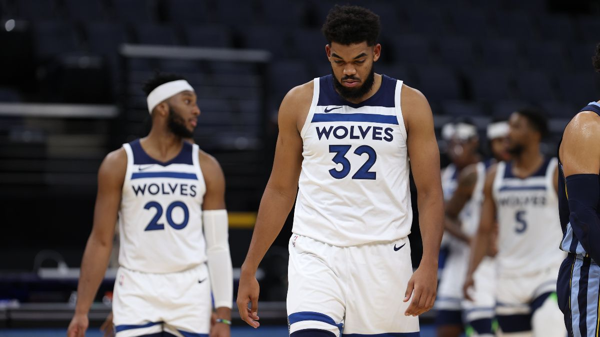 Minnesota Timberwolves 2021 NBA Win Total Odds & Pick: Fade the Wolves In the Difficult West article feature image
