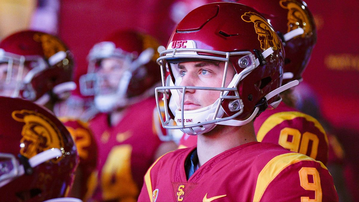 Saturday College Football Odds & Picks: Collin Wilson's Favorite Bets for USC vs. UCLA, Plus 2 More Week 15 Games article feature image