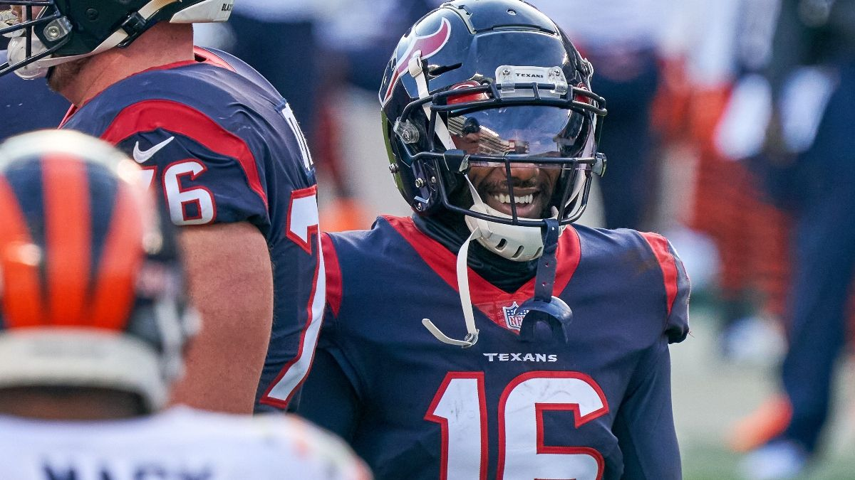 NFL Week 15 Main Slate Player Props: Load Up on Texans WRs (Sunday, Dec. 20) article feature image