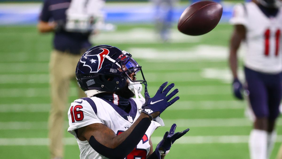 Fantasy Football Week 16 Waiver Wire Pickups: Keke Coutee Has Upside for Championship Week article feature image