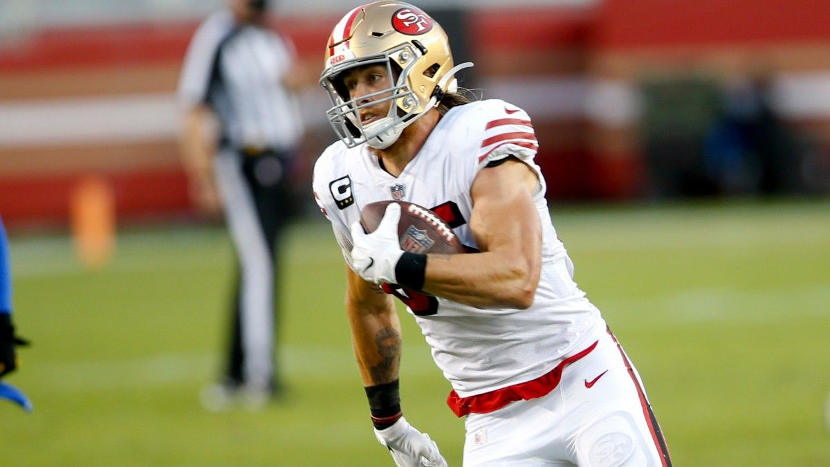 Start George Kittle In Fantasy Football Championships: Our Updated Rankings & Advice for Handling the Tight End article feature image