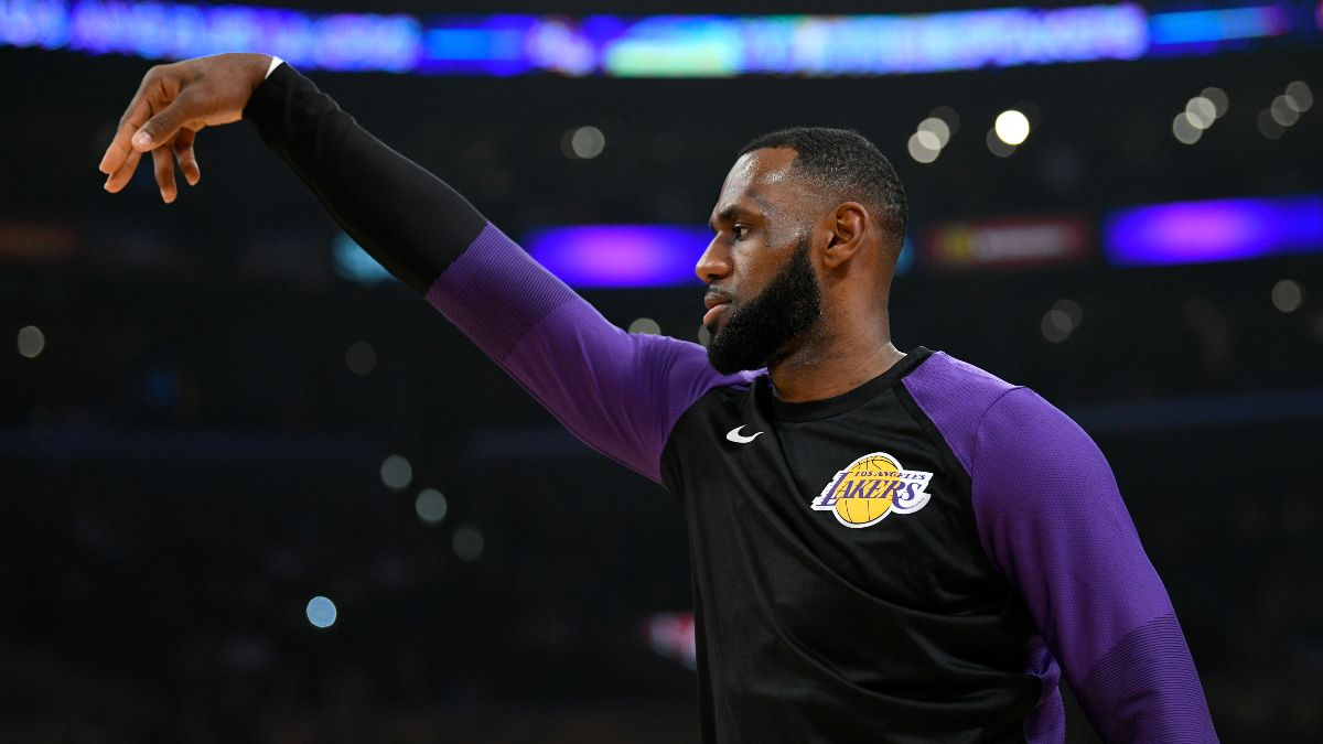 NBA Player Prop Bets & Picks: Fade LeBron James on Opening Night (Tuesday, Dec. 22) article feature image