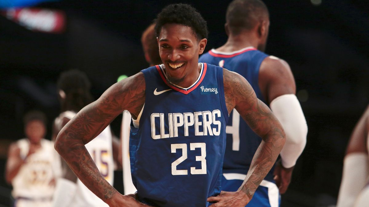 2020-21 NBA Sixth Man of the Year Odds: Lou Williams Enters Season as the Favorite to Win 4th Award article feature image