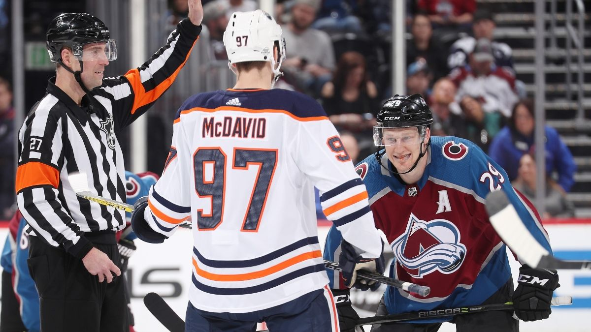 2021 NHL MVP Odds: Connor McDavid, Nathan MacKinnon the Favorites To Win Hart Trophy article feature image