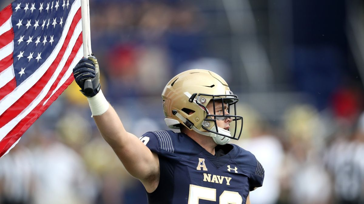 College Football Odds, Forecasts (Saturday, Dec. 5): Windy Weather Moving Navy vs. Tulsa, Penn State vs. Rutgers Totals article feature image
