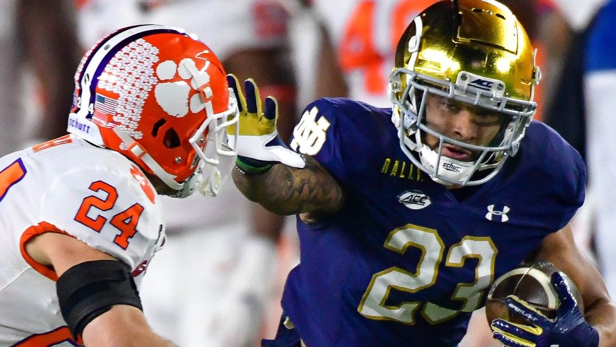 Notre Dame vs. Clemson Odds & Promos: Bet $1, Win $100 if ND Scores a TD, Much More! article feature image